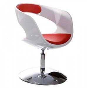 Paris Prix-Silla Design 'City' blanco y rojo