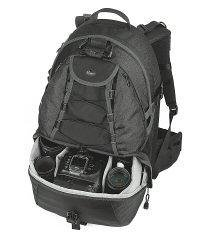 Lowepro CompuRover AW Backpack for DSLR and Laptop - Black