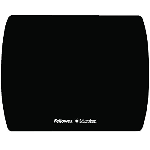 Fellowes Microban Black Ultra Thin Mouse Pad (5908101) (Microban Mouse Pad compare prices)