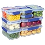 Sistema Klip It 10-Pack Value Set (20 pieces total with lids) Containers, Value Pack