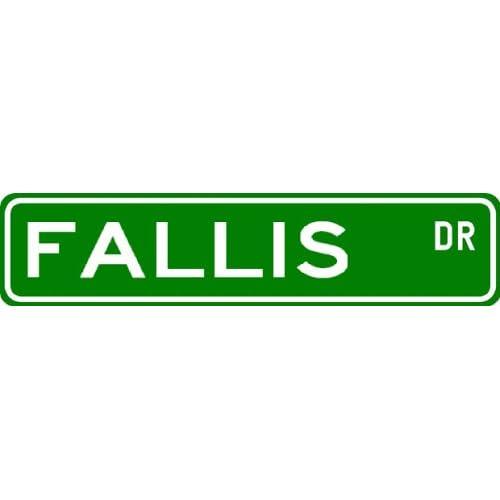 Fallis Sign