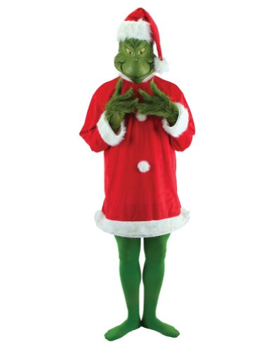 Adult-costume Grinch Deluxe Adult Costume Lg-xl