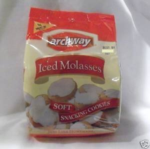 Archway Home Style Iced Molasses Soft Cookies 4 bags/14 oz each by Archway (Iced Molasses Cookies compare prices)