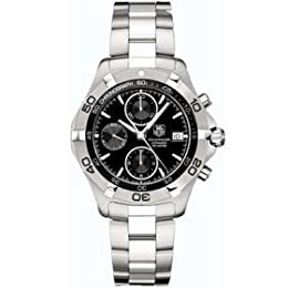 TAG Heuer Men s CAF2110 BA0809 2000 Aquaracer Automatic Chronograph Watch