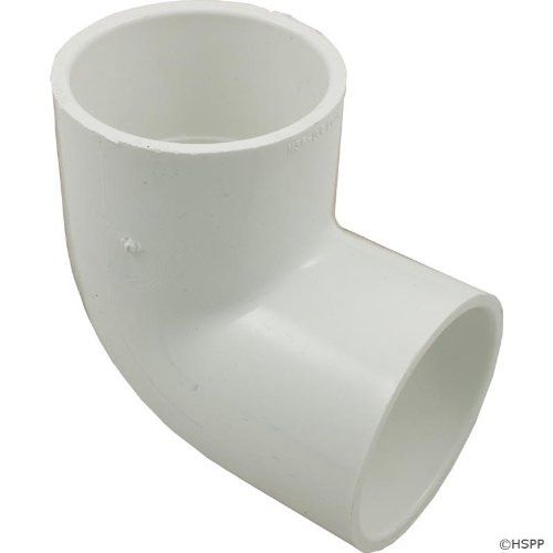 spears 406 series pvc pipe fitting 90 degree elbow schedule 40 white 2 socket 054211140901. Black Bedroom Furniture Sets. Home Design Ideas