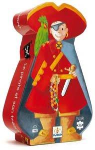 Cheap Djeco The Pirate and the Treasure (B000GUZGHQ)