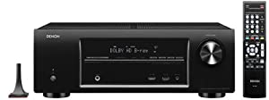 Denon AVR-1613 5.1 Channel 3D Pass Through and Networking Home Theater Receiver with AirPlay