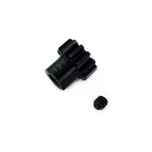 Himoto 1:8 12T Mod 1 Hardened Steel Pinion Gear for E8 Series - 1