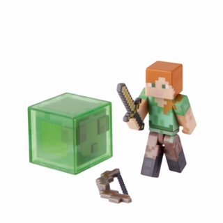 5 X Minecraft Series 3 Alex Action Figure with Accessory by Jazwares