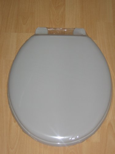 Atlantic Whisper Grey Toilet Seat with Fittings