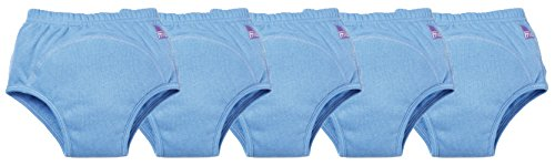 Bambino Mio Potty Training Pants, Blue, 2-3 Years, 5 Count