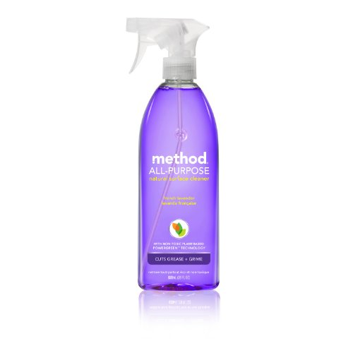 Method All Purpose Cleaner, French Lavender, 28-Ounce Bottles (Pack of 8)