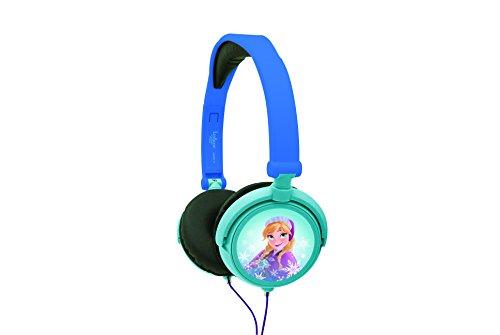 Frozen - Cascos estéreo, color azul (Lexibook HP010FZ)