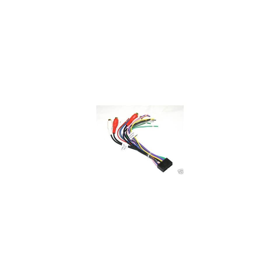jensen wire harness for xdvd8180 vm9510