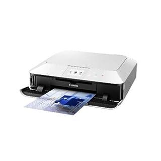 Canon Pixma MG6350- Impresora multifunción de tinta color, color blanco