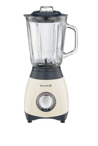 Breville Pick and Mix Blender, 600 Watt - Vanilla Cream