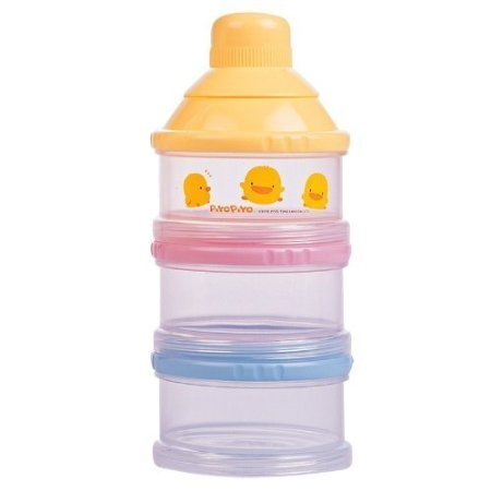 Piyo Piyo Non Spill Milk Powder Dispenser Gift, Baby, NewBorn, Child
