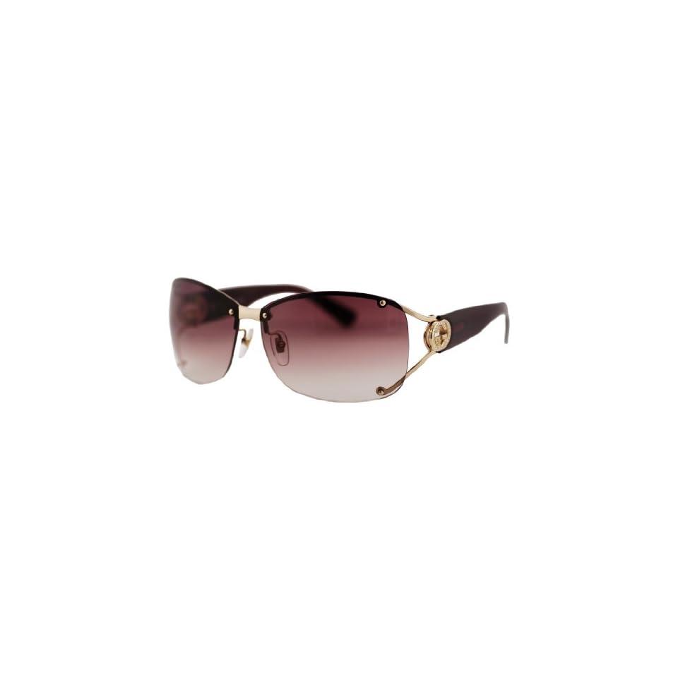 4a44e0c63a157 Gucci Sunglasses 2820 Shiny Gold on PopScreen