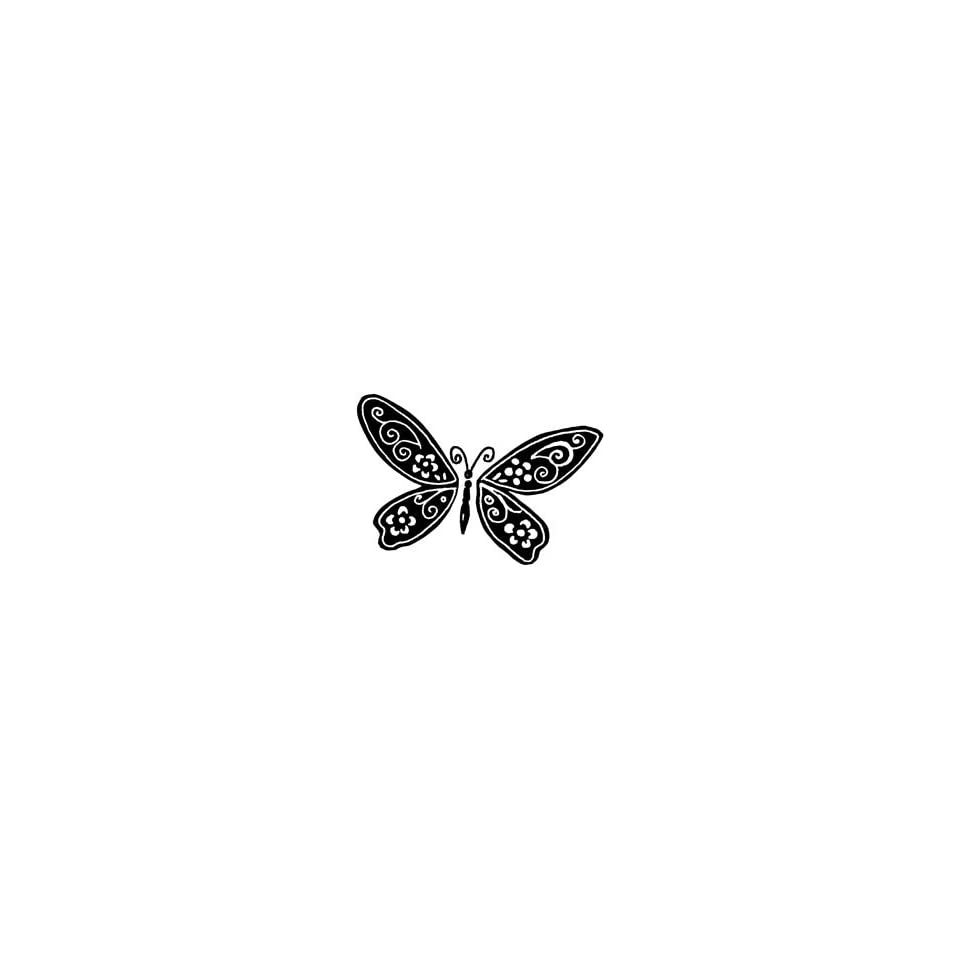Penny Black Rubber Stamp 1.5X2.25 Shadow Wings; 3 Items/Order