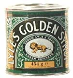 Lyles Golden Syrup 16.0 Fluid Oz(454g) Per Tin - Pack 2 Tins