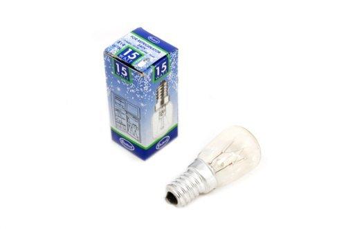 Eveready 15W Ses/E14 (Small Edison Screw Cap)Clear Fridge Lamp - [Eu Specification: 220-240V]