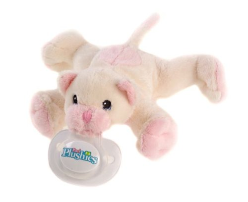 Paci Plushies- Cuddles the Cat