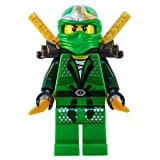 Lloyd ZX (Green Ninja) with Dual Gold Swords - LEGO Ninjago