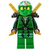 Lloyd ZX (Green Ninja) with Dual Gold Swords - LEGO Ninjago