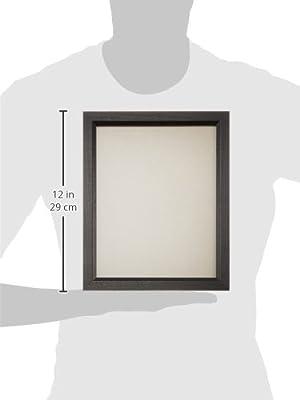 Craig Frames 7171610BK Picture Frame, Smooth Wrap Finish, .825-Inch Wide, Black