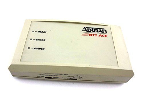 Genuine Adtran NT1 Ace ISDN Network Termination W/O AC Adapter 1203.019L1 1203.019L2