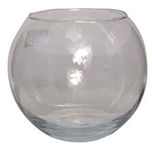 """20cm 8"""" Clear Glass Fish Bowl Bubble Ball Table Wedding Display Vase"""