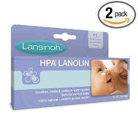 Lansinoh Hpa Lanolin for Breastfeeding Mothers, 1.41 Ounce (Pack of 2) - 1