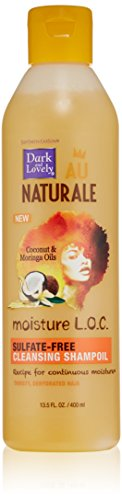 SoftSheen-Carson Dark and Lovely Au Naturale Moisture L.O.C. Sulfate-Free Cleansing Shampoil, 13.5 fl oz (Dark And Lovely Moisture Loc compare prices)