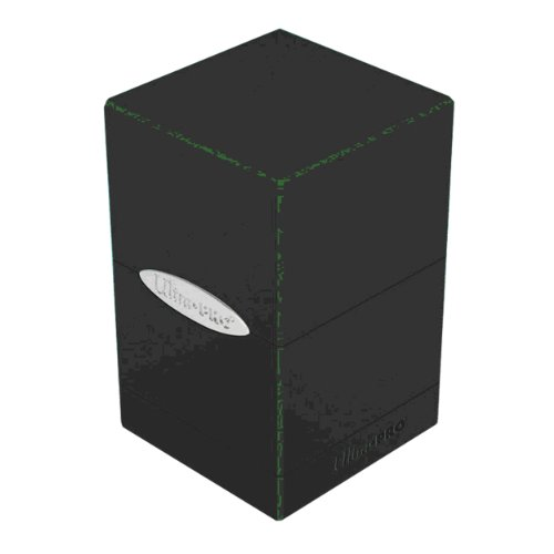 Ultra Pro Satin Tower Deck Boxes, Black - 1
