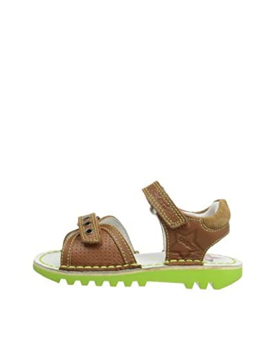 Kickers Sandalo Flat Kick Jess [Marrone]