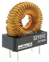 INDUCTOR, 1MH, 0.45A TH TOROID 32102C Di MURATA POWER SOLUTIONS