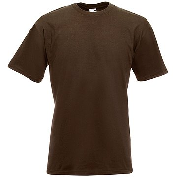 Fruit of the Loom T-Shirts 5 Pack - Super Premium T - chocolate - L