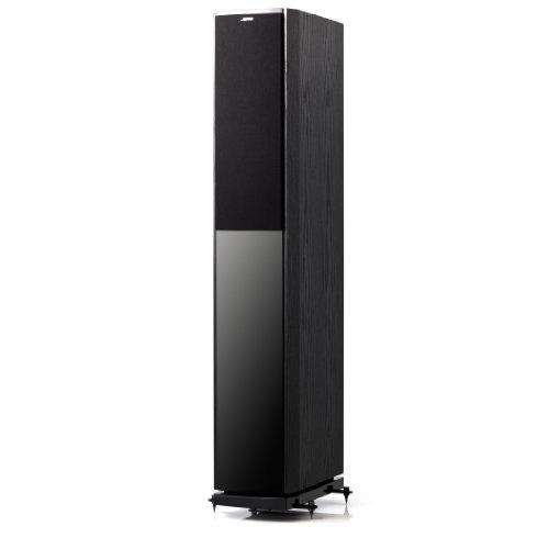 Jamo S 606 3-Wege Bass-Reflex Stand-Lautsprecher (130/210 Watt) black ash (Paar)