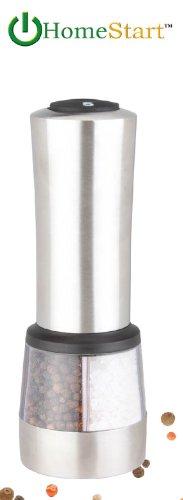 Homestart 2 In 1 Electric Salt & Pepper Grinder