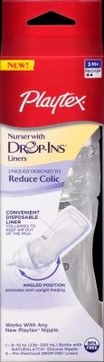 Playtex Nurser Bottle With Drop-Ins Liners - 1