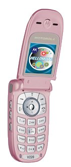 Motorola V220 Pink - T-Mobile - Pay As You Go Mobile Phone