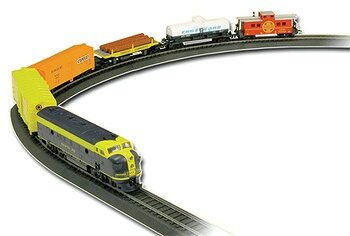 Life-Like Rolling Rails Train Set HO Scale