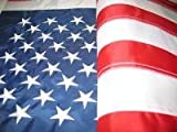 8 X 12 Foot Nylon American Flag Embroidered Stars Sewn Stripes