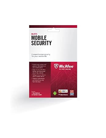McAfee Mobile Security Suite 2014