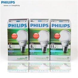 Philips Energy-Saving Bulbs The Soft & Poor Ball Energy-Saving Light Bulbs 5W/8W/11W E27 Standard Screw