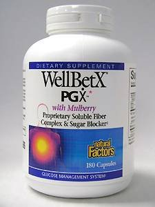 Natural Factors - WellBetX® PGX® 180 caps