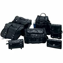 Wmu Diamond 7Pc Buffalo Leather Motorcycle Luggage Set (Pack Of 1)