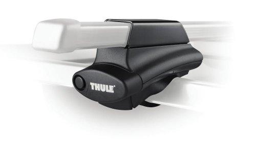 【並行輸入品】 THULE スーリー ルーフラック/ルーフキャリア用 ベースキャリアフット (クロスロードレール フットパック) ※ルーフレール付車両適合・4個