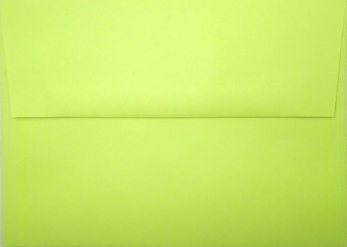 a7-envelopes-britehue-ultra-lime-5-1-4-x-7-1-4-pack-of-50-by-brite-hue
