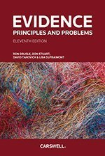 Evidence: Principles and Problems, Eleventh Edition